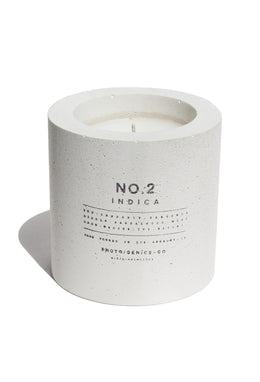PG+CO NO.2 INDICA CONCRETE CANDLE