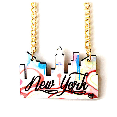 NYC Cityscape Necklace