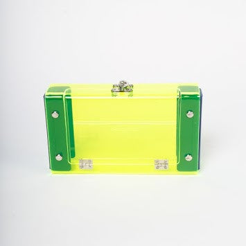 Ella Clutch - Neon Green