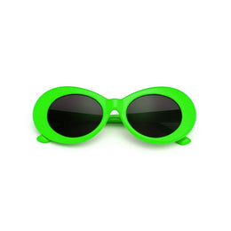 Nevermind Sunglasses in Lime Green