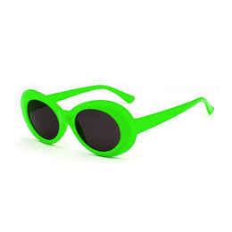 Nevermind Sunglasses in Lime Green View 2
