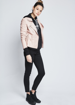 Biker En Rose Jacket View 2