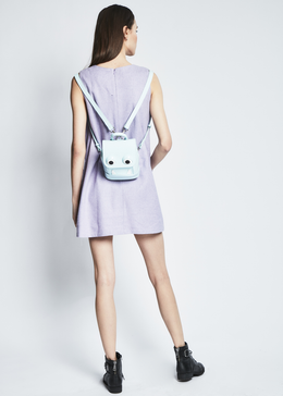 Melissa Lilac Wool Pinafore View 2