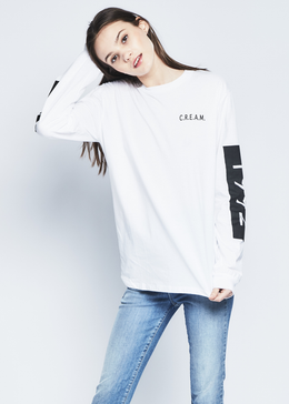 1992 Clan Crew Neck in White