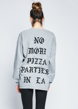 No More Pizza Parties in LA Tee