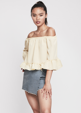Bonny Off Shoulder Top View 2