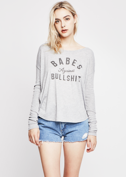 Babes Against BullSh*t Long Sleeve Tee