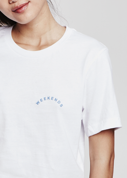 Weekends Tee