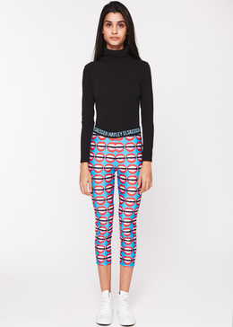 Mouthy Cropped Leggings