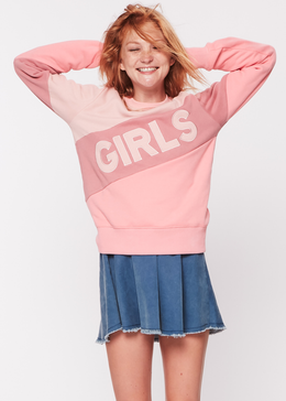 GIRLS Color Block Sweatshirt