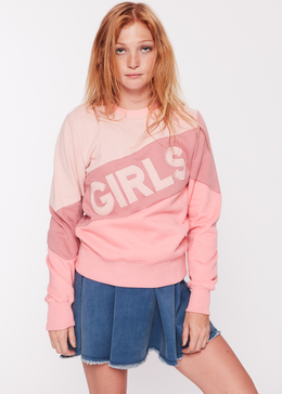 GIRLS Color Block Sweatshirt View 2