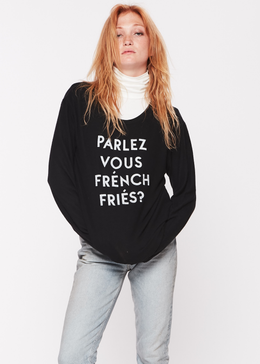 French Fries Pullover