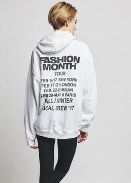 Fashion Month Tour Hoodie View 2
