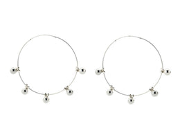 On Point Hoop Earrings View 2