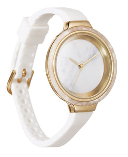 White Orchard Marble Watch