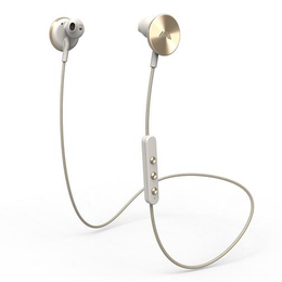 i.am+ BUTTONS Bluetooth Earphones in Gold