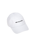 Pimp the System Cap in White