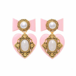 Pink'n'Rouge Mini Earrings