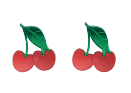 XL Cherry Earrings