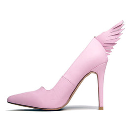 Pink Angyl Heel View 2