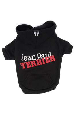 Jean Paul Terrier Zip-Up Hoodie