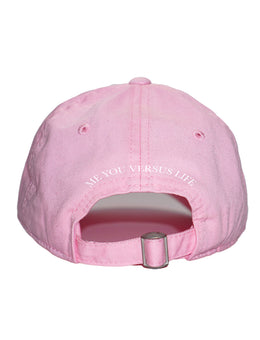 Rainbow Cap in Baby Pink View 2
