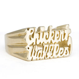 Chicken and Waffles Ring