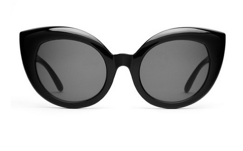 The Diamond Brunch Sunglasses in Black