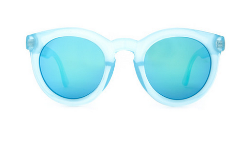 The TV Eye Sunglasses in Sky Blue