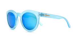 The TV Eye Sunglasses in Sky Blue View 2