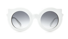 The Hanoi Weekend Sunglasses in Gloss White