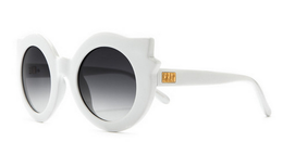 The Hanoi Weekend Sunglasses in Gloss White View 2