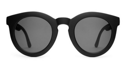 The TV Eye Sunglasses in Flat Black