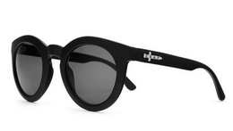 The TV Eye Sunglasses in Flat Black View 2
