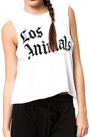 Los Animals Muscle Tee