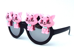 Pink Pussyfoot Sunglasses View 2