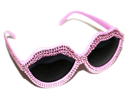 Light Pink Lip Sunglasses View 2