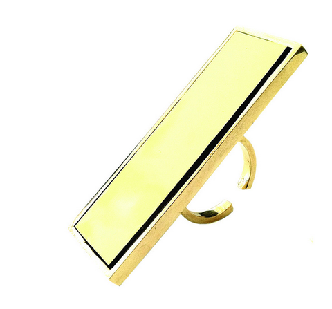 "Yellow ""Out the Box Ring"""