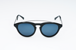 Amos Sunglasses in Black View 2