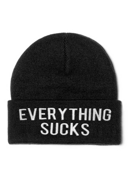 Everything Sucks Beanie