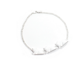 White Cat Parade Necklace
