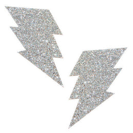 Pixie Dust Silver Bolt Pasties