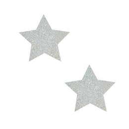 Mini Pixie Dust Silver Glitter Star BodiStix 6PK
