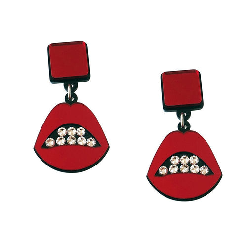 Sealed With A Kiss Earrings