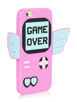 iPhone 6/6S Game Over Silicone Case View 2