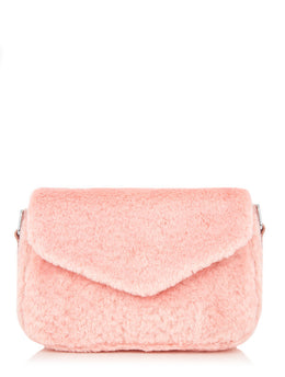 Pink Fluff City Cross Body Bag