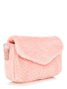 Pink Fluff City Cross Body Bag View 2