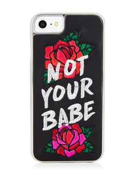 IPHONE 6/6S & 7 NOT YOUR BABE CASE