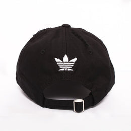 Smoke Me Out Dad Hat in Black View 2