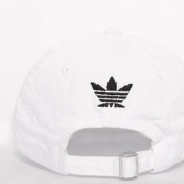 Smoke Me Out Dad Hat in White View 2